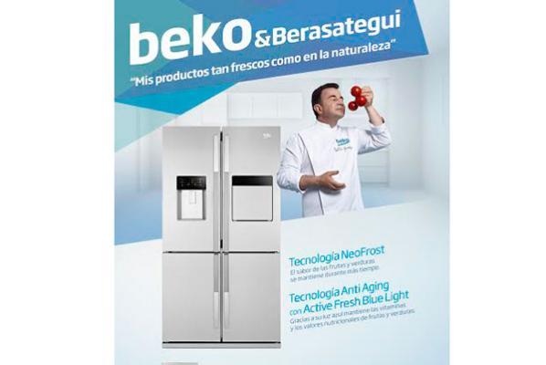 martin berasategui protagoniza la nueva campana de beko