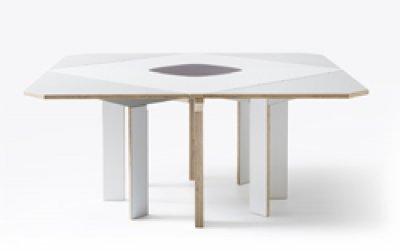 mediodesign presenta su nueva mesa gironde extendible table