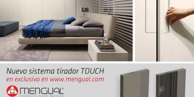 mengual lanza al mercado el nuevo sistema tirador touch