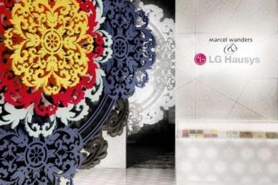 los mundos racionales y emocionales de marcel wanders para lg hausys en la milan design week 2015