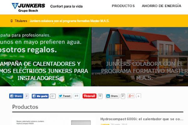 nace el blog junkers una plataforma interactiva dirigida a instaladores profesionales