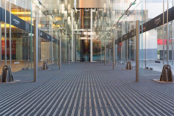 nueva alfombra para entradas de edificios 3m nomad optima