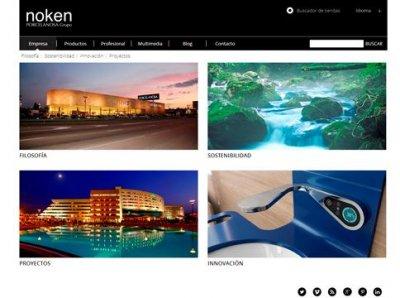 nueva web y perfiles sociales de noken