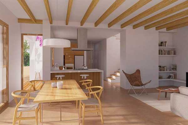 nueva vivienda pasiva en castelldefels de house habitat