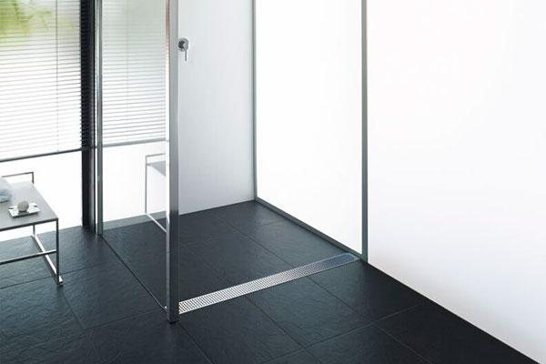 nuevo canal de ducha para impermeabilizacin con tela de aco showerdrain f
