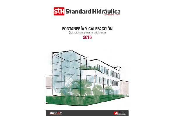 nuevo catlogo de fontanera y calefaccin de standard hidrulica 2016