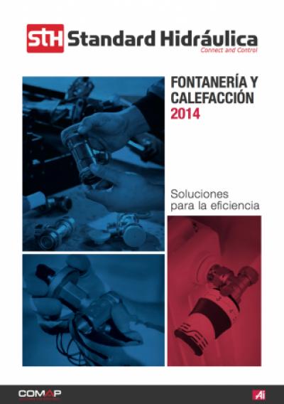 nuevo catlogo de fontanera y calefaccin 2014 de standard hidrulica