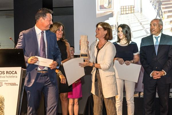 orac decor apoya los premios roca a la iniciativa hotelera