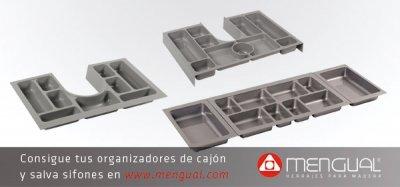 Los organizadores y salva sifones de mengual ayudan a ordenar el espacio en el ba o - Organizadores de cajones de bano ...