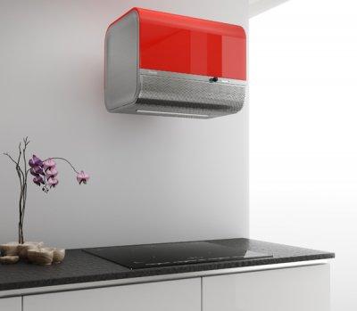 pando aporta un aire retro a la cocina con la campana boll