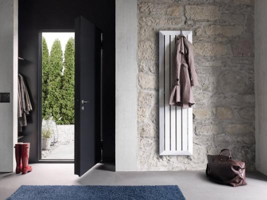 un perchero radiador