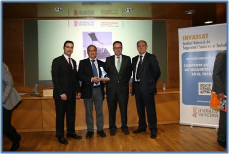 la planta de saintgobain placo en soneja reconocida por la comunidad valenciana por su gestin en seguridad y salud laboral