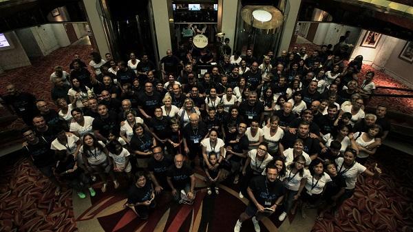 poalgi celebra la convencion anual con su equipo de ventas