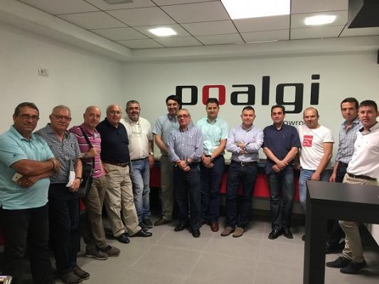 poalgi muestra sus novedades a su red nacional de comerciales
