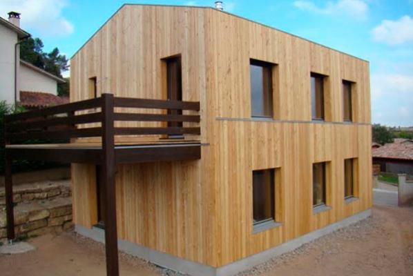 primera casa de madera y paja certificada pasiva en espaa