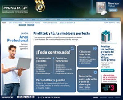profiltek lanza su decorador virtual 30 y una renovada rea profesional