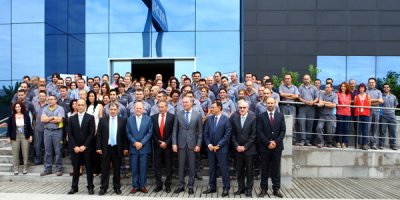 profiltek recibe en sus instalaciones al president de la generalitat valenciana