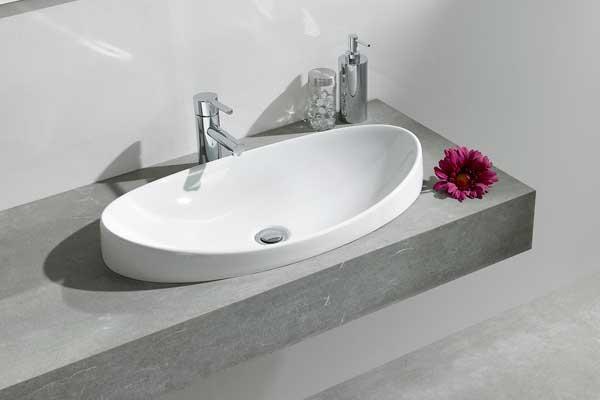 dos propuestas de gala para un lavabo lleno de sofisticacin