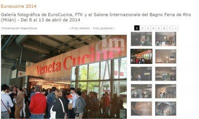 un recorrido fotogrfico por eurocucina ftk y el salone internazionale del bagno de miln