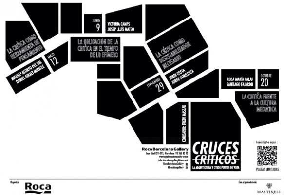 roca barcelona gallery acoge el ciclo cruces crticos la arquitectura y otros puntos de vista