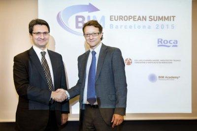 roca patrocinador de la 1 edicin en espaa del european bim summit