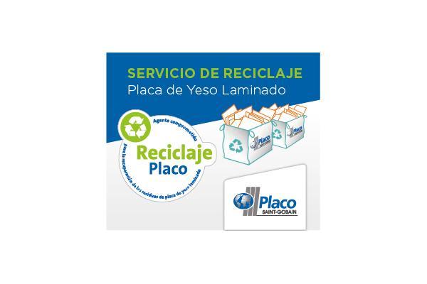 saintgobain placo crea un servicio para reciclar placas de yeso laminado