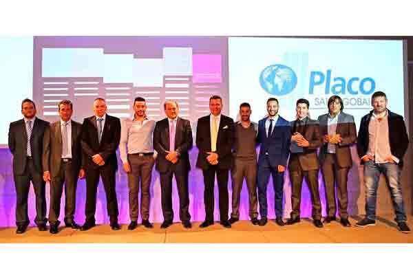 saintgobain placo entrega el premio a los seis ganadores el x trofeo golden gypsum