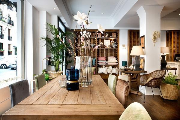 sandra marcos inaugura su tienda de decoracin en madrid