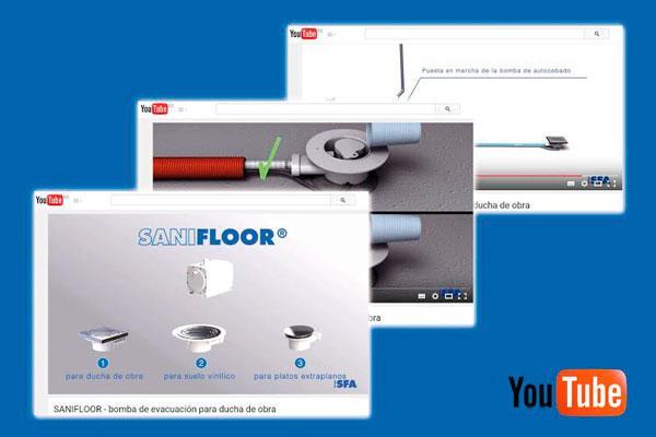 sanifloor protagoniza un nuevo vdeo en el canal de sfa sanitrit en youtube