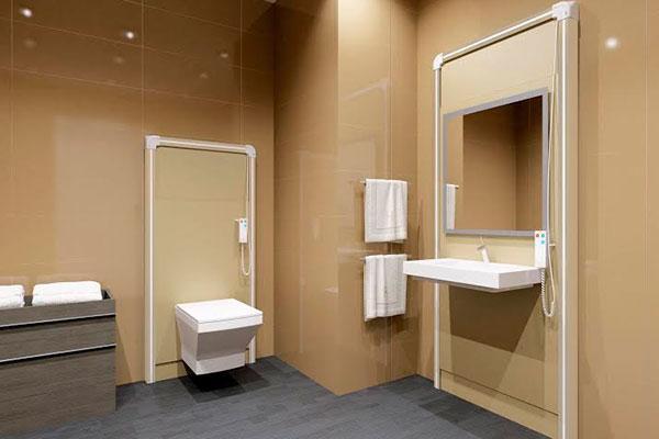 sanimatic el sistema que regula la altura del wc y lavabo con telemando