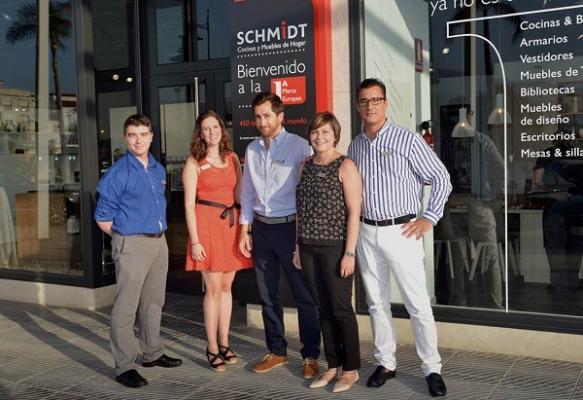 Schmidt cocinas refuerza su presencia en andaluc a - Cocinas schmidt malaga ...