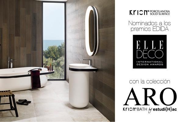 la serie aro de krion bath nominada a los premios edida