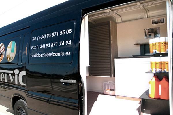 servicanto presenta sus showrooms mviles