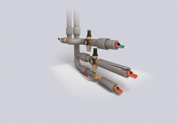 sharmaflex aislamiento para instalaciones de calefaccion con edp