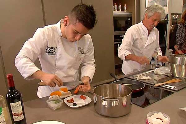 showcooking de carlos maldonado en master kitchen