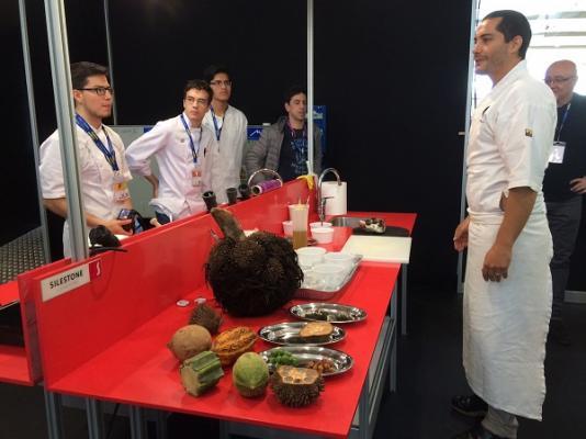 silestone entrega el premio cocinero del ao en europa a ngel len