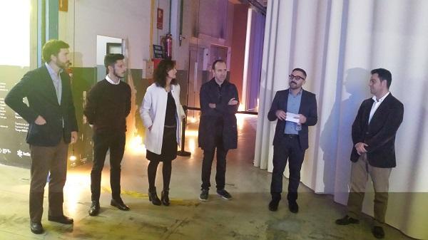 simon inaugura el espacio  100 en su antigua fabrica de barcelona