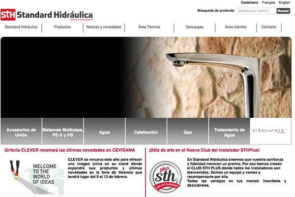 standard hidraulica lanza su portal online
