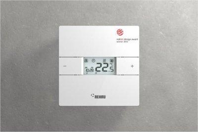 tecnologa y diseo al servicio del confort con el termostato ambiente nea de rehau