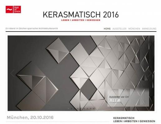 tile of spain se promociona entre arquitectos de munich