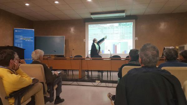 vaillant participa en una jornada tcnica sobre geotermia