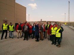 visita de los asociados del grup gamma de la zona norte a la fbrica de rockwool en caparroso